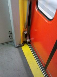 Lichtschranke in der S-Bahn